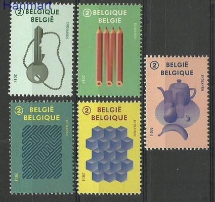 Znaczek Belgia 2014 Mi 4508-4512 Czyste **