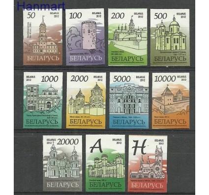 Znaczek Białoruś 2012 Mi 900-910w Czyste **