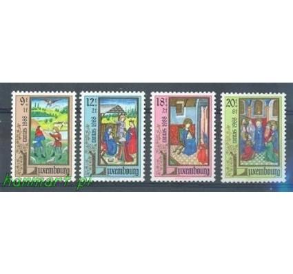 Znaczek Luksemburg 1988 Mi 1210-1213 Czyste **
