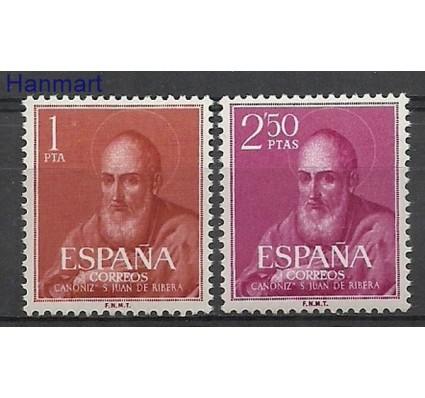 Znaczek Hiszpania 1960 Mi 1187-1188 Czyste **