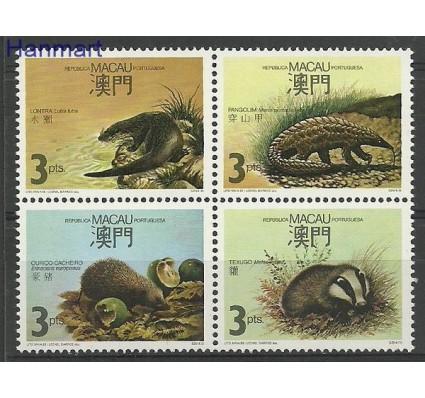 Znaczek Makau 1988 Mi 589-592 Czyste **