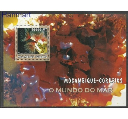 Znaczek Mozambik 2002 Mi bl 174 Czyste **