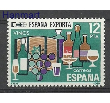 Znaczek Hiszpania 1981 Mi 2510 Czyste **