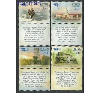 Znaczek Rosja 2011 Mi zf 1756-1759 Czyste **
