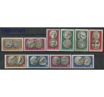 Znaczek Grecja 1959 Mi 696-705 Czyste **