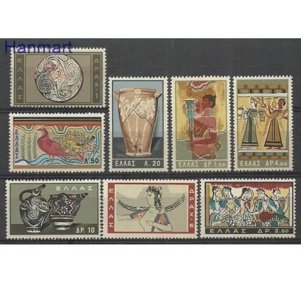 Znaczek Grecja 1961 Mi 765-772 Czyste **