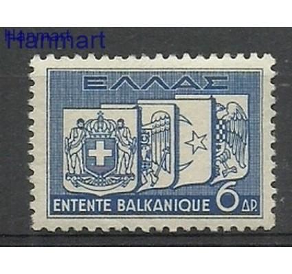 Znaczek Grecja 1938 Mi 411 Z podlepką *