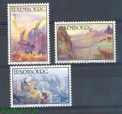 Luksemburg 1991 Mi 1264-1266 Czyste **