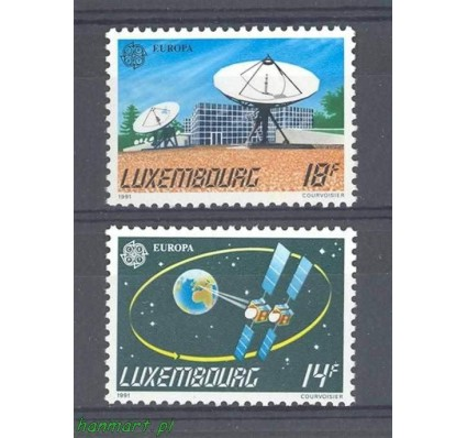 Znaczek Luksemburg 1991 Mi 1271-1272 Czyste **