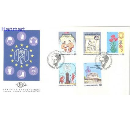 Znaczek Grecja 1992 Mi 1797-1801 FDC