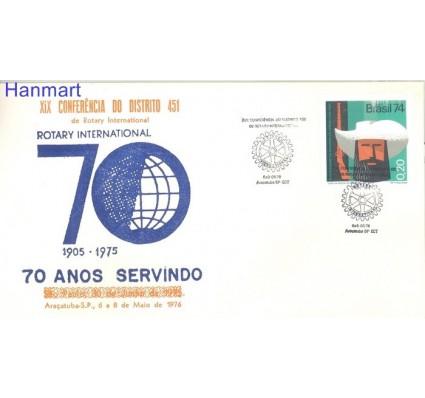 Znaczek Brazylia 1974 Mi 1443 FDC