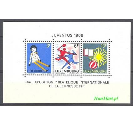 Znaczek Luksemburg 1969 Mi bl 8 Czyste **
