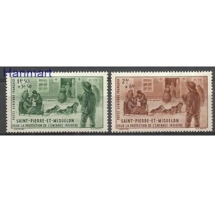 Znaczek Saint-Pierre i Miquelon 1942 Mi 324-325 Z podlepką *