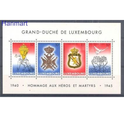Znaczek Luksemburg 1985 Mi bl 14 Czyste **