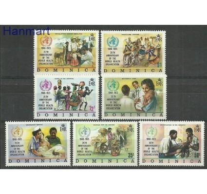 Znaczek Dominika 1973 Mi 361-367 Czyste **