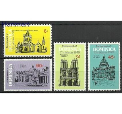 Znaczek Dominika 1979 Mi 651-654 Czyste **