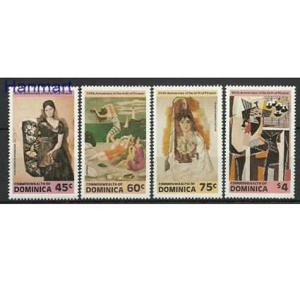 Znaczek Dominika 1981 Mi 753-756 Czyste **