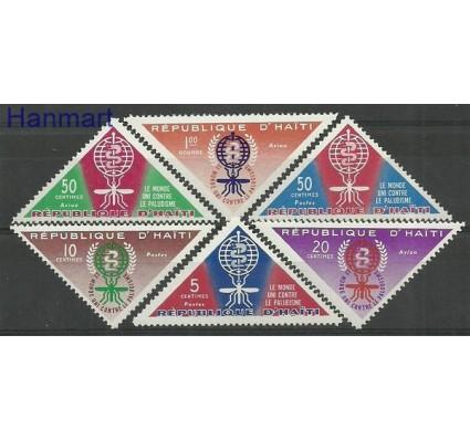 Znaczek Haiti 1962 Mi 697-702 Czyste **