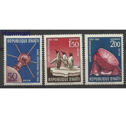 Znaczek Haiti 1958 Mi 497-499 Czyste **