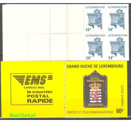 Znaczek Luksemburg 1991 Mi mh 3 Czyste **
