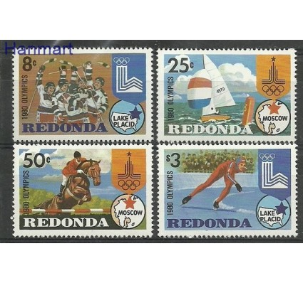Znaczek Redonda 1980 Mi 59-62 Czyste **
