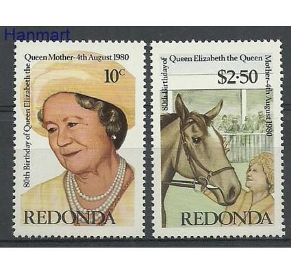 Znaczek Redonda 1980 Mi 64-65 Czyste **