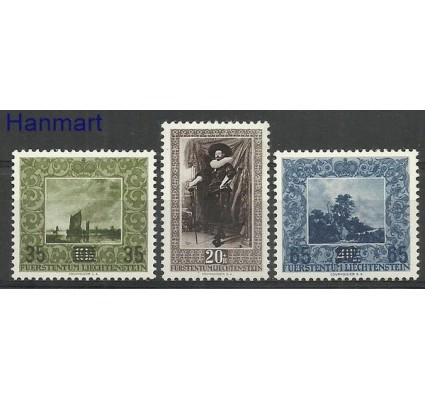 Znaczek Liechtenstein 1954 Mi 326-328 Czyste **