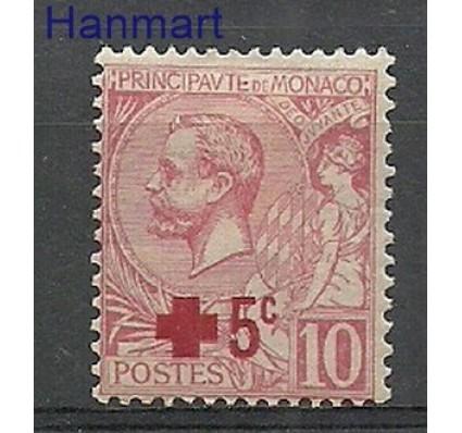 Znaczek Monako 1914 Mi 26 Z podlepką *