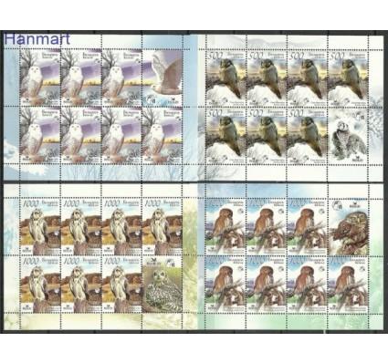 Znaczek Białoruś 2007 Mi ark 672-675II Czyste **