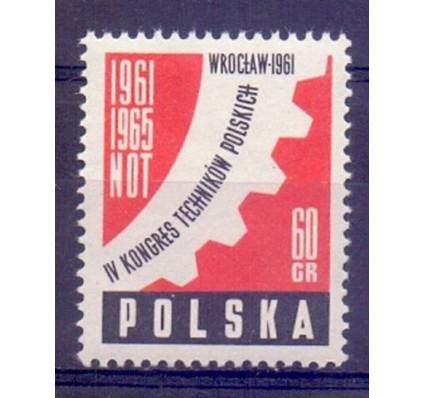 Znaczek Polska 1961 Mi 1225 Fi 1081 Czyste **
