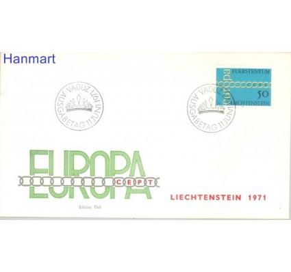 Znaczek Liechtenstein 1971 Mi 545 FDC