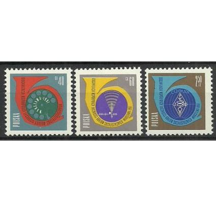 Znaczek Polska 1961 Mi 1244-1246 Fi 1100-1102 Czyste **