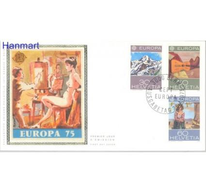 Znaczek Szwajcaria 1975 Mi 1050-1052 FDC