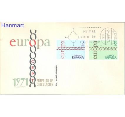 Znaczek Hiszpania 1971 Mi 1925-1926 FDC