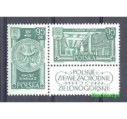 Znaczek Polska 1962 Mi zf 1301-1302 Fi zf 1153-1154 Czyste **