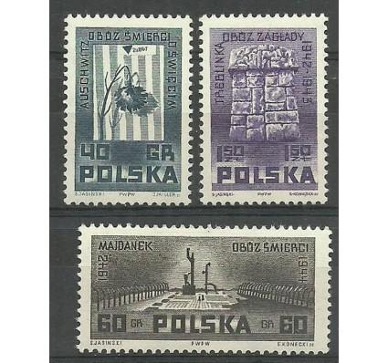 Znaczek Polska 1962 Mi 1303-1305 Fi 1155-1157 Czyste **