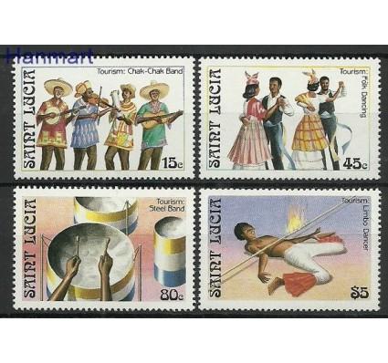 Znaczek Saint Lucia 1986 Mi 872-875 Czyste **