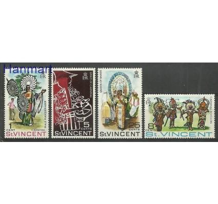 Znaczek St. Vincent 1969 Mi 243-246 Czyste **