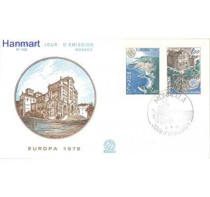 Znaczek Monako 1978 Mi 1319-1320 FDC