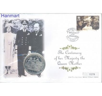 Znaczek Wyspa Man 2000 FDC