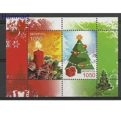 Znaczek Białoruś 2007 Mi bl 59 Czyste **