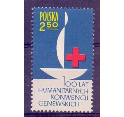 Znaczek Polska 1963 Mi 1392 Fi 1244 Czyste **