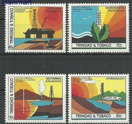 Znaczek Trynidad i Tobago 1979 Mi 391-394 Czyste **