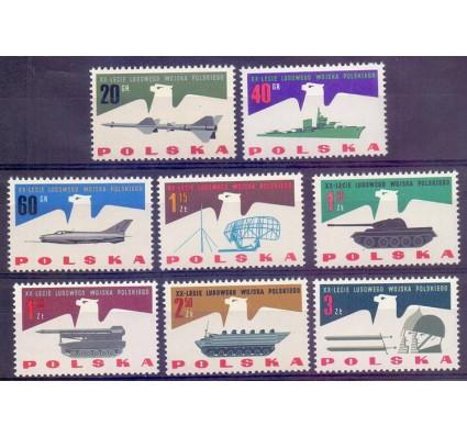 Znaczek Polska 1963 Mi 1425-1432 Fi 1277-1284 Czyste **