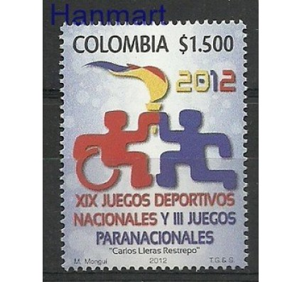 Znaczek Kolumbia 2012 Mi 2778 Czyste **