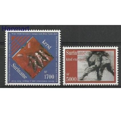 Znaczek Surinam 2001 Mi 1798-1799 Czyste **