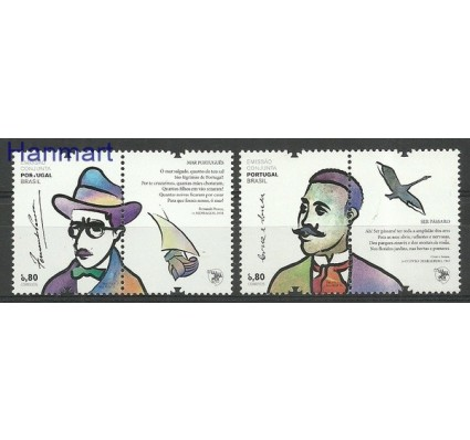Znaczek Portugalia 2012 Mi zf 3757-3758 Czyste **