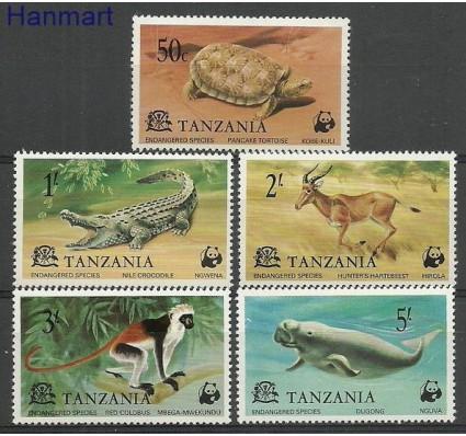 Znaczek Tanzania 1977 Mi 82-86 Czyste **