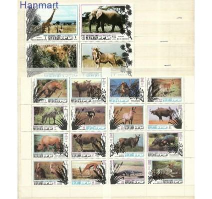Znaczek Manama 1971 Mi 514-533 Czyste **