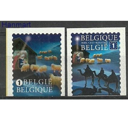 Znaczek Belgia 2013 Mi 4424-4425D Czyste **